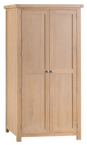 Oxford Oak Double Wardrobe